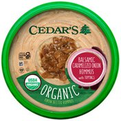Cedar's Foods Topped Balsamic Caramelized Onion Hommus