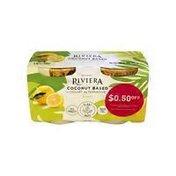 Riviera Lemon Coconut Based Yogurt Alternative