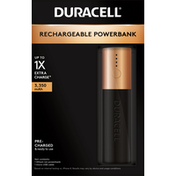 Duracell Powerbank, Rechargeable, 3,350 mAh