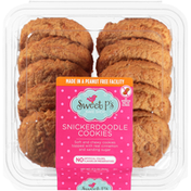 Sweet P's Soft And Chewy Snickerdoodle Cookies Topped With Real Cinnamon And Sanding Sugar
