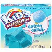 Kid's Kitchen Cotton Candy Gelatin Dessert