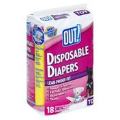 Out Diapers, Disposable, Toy