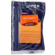 Hy-Vee Mild Cheddar Deli Style Cheese Slices