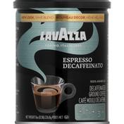 Lavazza Coffee, Ground, Espresso Decaffeinato, Decaffeinated
