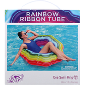 H2o Go! Swim Ring, Rainbow Ribbon Tube