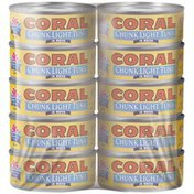 Coral Chunk Light In Water 5 Oz Cans Tuna