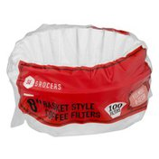"""Southeastern Grocers 8"""" Basket Style Coffee Filters - 100 CT"""