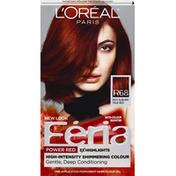 L'Oreal Feria Multi-Faceted Shimmering Colour R68 Rich Auburn True Red