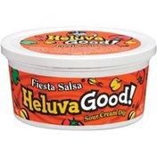 Heluva Good! Fiesta Salsa Sour Cream Dip