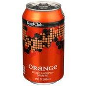 Food Club Caffeine Free Orange Soda