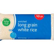 Food Club White Rice, Enriched, Long Grain