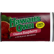 Hawaiis Own Frozen Concentrate, Guava Raspberry