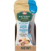 Hormel Natural Choice Turkey Breast/White Cheddar/Dark Chocolate Pretzels