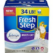 Fresh Step Cat Litter, Scoopable, Multi-Cat, Scented