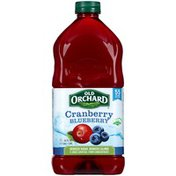 Old Orchard Cranberry Blueberry Juice Cocktail