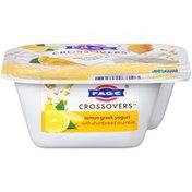 FAGE Crossovers Lemon Blended Low Fat Greek Strained Yogurt With Shortbread