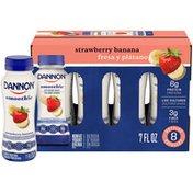 Dannon Smoothie Strawberry Banana Nonfat Yogurt Drink