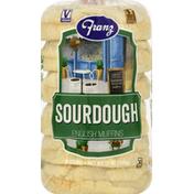 Franz English Muffins, Sourdough