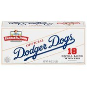 Farmer John Official Dodger Dogs Extra Long Wieners