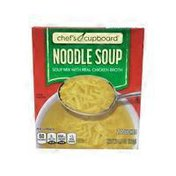 Chef's Cupboard Noodle Soup Mix With Chicken Broth