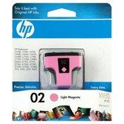 Hewlett Packard Ink Cartridge, Light Magenta 02