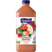Naked Strawberry Banana Chilled  Juice