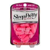 Hearos Sleep Pretty In Pink Pair - 10 CT