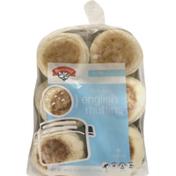 Hannaford Fork Split English Muffins Plain