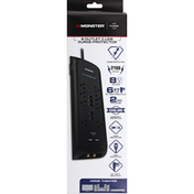 Monster Energy Surge Protector, 8 Outlet, 2 USB