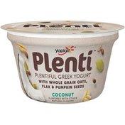 Yoplait Plenti Greek Coconut Low Fat Yogurt
