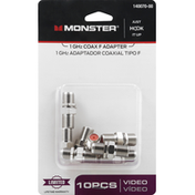 Monster Energy Adapter, Coax F, 1 GHz