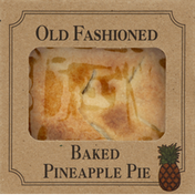 Table Talk Pineapple Pie, Baked