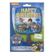 Paw Patrol Foil Balloon Happy Birthday!