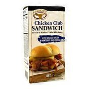 Kinder's Chicken Club Sandwich