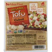 House Foods Tofu, Organic, Cubed