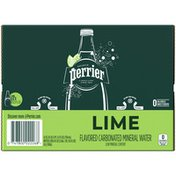 PERRIER Lime Flavored Carbonated Mineral Water
