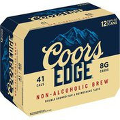 Coors Edge Non-Alcoholic Malt Beverage Beer