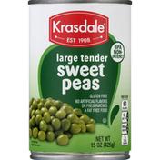 Krasdale Sweet Peas, Large Tender