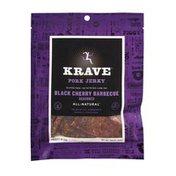 KRAVE Pork Jerky, Black Cherry Barbecue, 3.25 oz