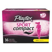 Playtex Tampons, Compact, Regular, Unscented