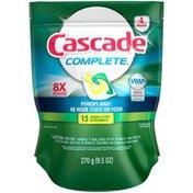 Cascade Complete Lemon Scent Dishwasher Detergent