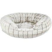 Harmony Grey 20 X 18 Faux Fur Cat Bed