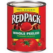 Redpack Whole Peeled In Juice Tomatoes