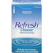 Refresh Classic Sensitive Lubricant Eye Drops