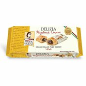 Matilde Vicenzi Delizia Puff Pastry Hazelnut Cream Filled