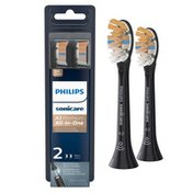 Philips Sonicare Premium All-in-One (A3) replacement toothbrush heads, HX9092/95, Smart recognition, Black