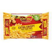 Ore-Ida Extra Crispy Fast Food French Fries Fried Frozen Potatoes Value Size