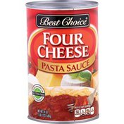 Best Choice Four Cheese Pasta Sauce