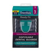 DenTek Ready-Fit Disposable Dental Guards - 5 CT