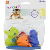 Munchkin Ocean Bath Toys 9+ Months - 5 CT